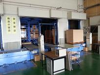 自動ラック倉庫コンベア